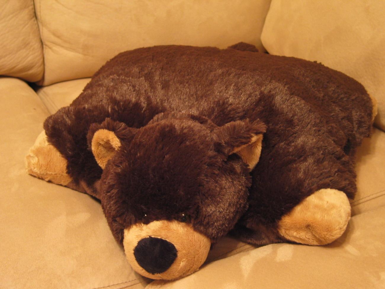 My Pillow Pet Brown Bear