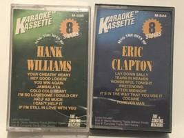 Hank Williams & Eric Clapton Cassette Tape Karaoke Kassette - $6.92
