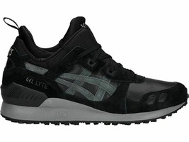 Asics Gel Lyte MT Sneakers Men's Shoes Black and Green Gel-Lyte Suede Le... - $99.25