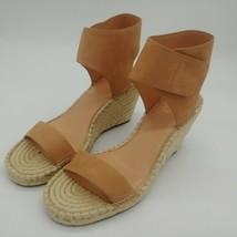 Vince Camuto Womens Levista Sandy Natural Wedge Sandals Sz 10M NEW - $39.59
