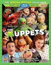 The Muppets (2012 Blu-ray/DVD/Digital Copy, 3-Disc Set) BRAND NEW / SEALED - $9.99