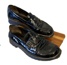 Donald J. Pliner Women's Patent Oxford Sport 8.5 Fits Like 7.5 Or 8 Italy - $57.19