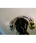 """Fine Taxco Sterling Silver & Black Onyx Aztec Head Brooch Pin Signed """"RB"""" - $233.99"""