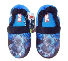 BLACK PANTHER MARVEL AVENGERS Boys Comfy House Slippers NWT Toddler's Si... - $15.80