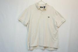 Chaps Ralph Lauren Midweight Cotton Polo Shirt, Solid Gray, Men's 2XL 9010 - $10.46