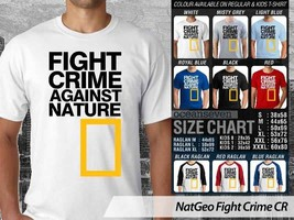 NEW T shirt National Geographic Fight Crime Against Natur Many Color & D... - $10.99+