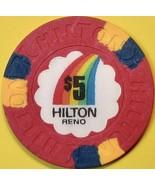 $5 Casino Chip. Hilton, Reno, NV. S88. - $17.50