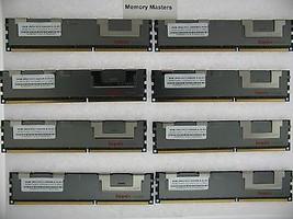 64GB (8X8GB) MEMORY FOR HP PROLIANT DL380 G7 DL980 G7 ML330 G6