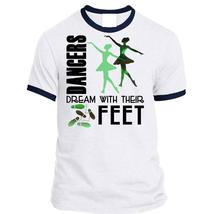 Dancers Dream With Their Feet T Shirt, I Love Dancer T Shirt, Awesome T-... - ₹1,725.01 INR+