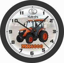 KUBOTA MX6000 UTILITY VEHICLE WALL CLOCK-FREE USA SHIP - $30.68+