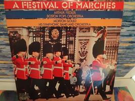 A festival of Marches_ 2 record set_ Arthur Fiedler/Boston Pops Orchestra - $29.69