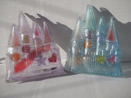 Castles Lip Gloss with Accessories 2  Diff Colors  2 pc Lot Set  #Cmts20 - $9.99
