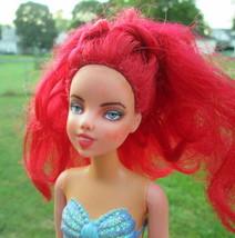 Ariel Mermaid Doll Repaint Custom Art Disney Mattel 2010 OOAK JL Biel #22 - $24.75