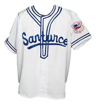 Roberto Clemente #21Santurce Retro Baseball Jersey White Any Size image 1