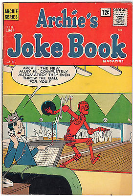 Primary image for Archie's Joke Book Magazine #76 (Feb 1964, Archie) Comic Book
