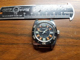 1977 Ladies Timex Diver Date Watch For You To Fix Mainspring Or For Parts - $89.00