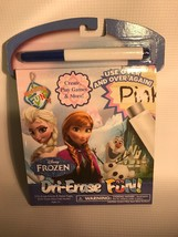 NEW:  Disney Frozen Dri-Erase Fun Activity and Game Pages (marker included) - $0.98