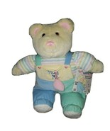 "Vintage Eden Hug Me Teddy Bear Plush Lovey Talking RARE 16"" Tested Works... - $93.46"
