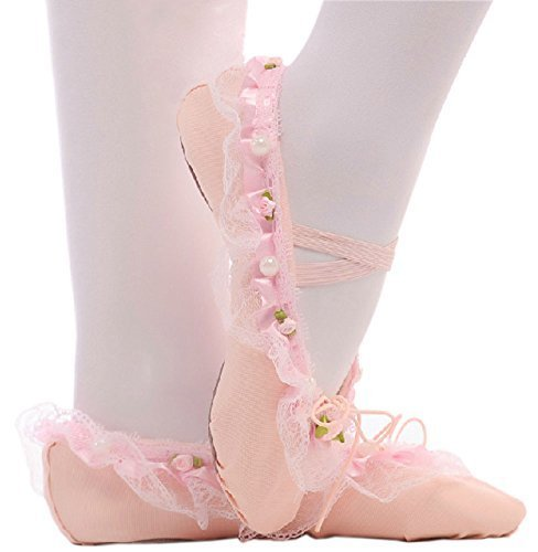 Performance Ballet Shoes/Dance Shoes For Pretty Girl (22.5CM Length) Light Pink
