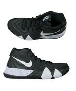 Nike Kyrie 4 TB Mens Basketball Shoes Size 11.5 Oreo Black White AV2296 ... - $98.95