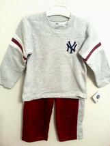 New York Yankees Child Kids Sizes Sweatshirt and Sweatpants 2PC Set SZ 4... - $14.95