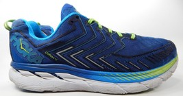 Hoka One One Clifton 4 Men's Running Shoes Size US 14 M (D) EU 49 1/3 Blue Green