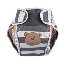 Lovely Bear Baby Leak-free Diaper Cover With Magic Tape (6-12 Months)