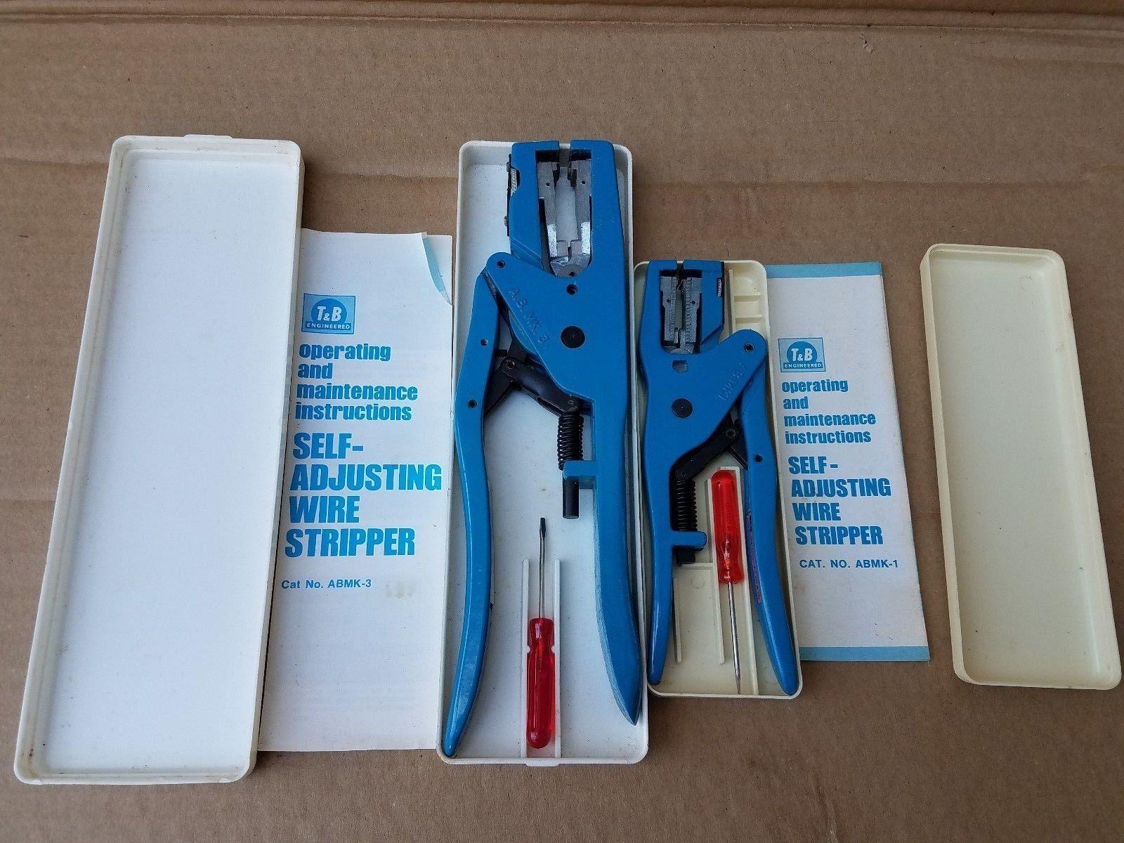 Thomas & Betts ABMK-1 & ABMK-3 Wire Stripper and 48 similar items