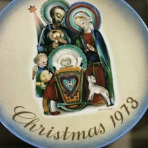 VTG Hummel Collector Series 1973 Christmas Plate Baby Jesus Schmid Brothers  - $17.57