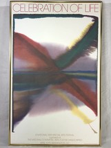 Celebration Of Life Arts Festival Poster 1979 Paul Jenkins Phenomena Lan... - $94.05