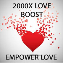 2000x COVEN EXTREME LOVE BOOST POWER OF ALL SPELLS MAGNIFYING MAGICK Witch  - $99.77