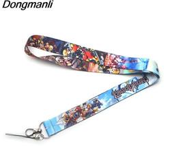 P2223 Dongmanli Kingdom Hearts Lanyards For Keys ID Card Pass Gym Mobile... - $12.64