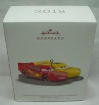 Disney CARS 3 LIGHTINING MCQUEEN and CRUZ Hallmark Keepsake CHRISTMAS OR... - $19.80