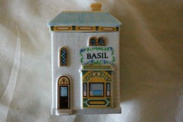 Lenox Spice Village 1989 Basil Spice Jar In Box - $6.23