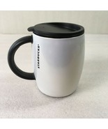 Starbucks Travel Mug Stainless Steel White Pearlescent Cup With Lid 14 O... - $42.56