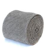 Frederick Thomas Aderente Uomo Tweed DI LANA CRAVATTA IN marrone a spina... - $24.41