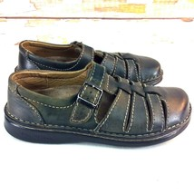Vintage Birkenstock Womens Fisherman Sandals Euro 38 US 7 Stone Leather ... - £26.80 GBP