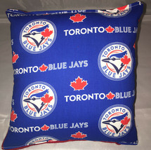 Blue Jays Pillow Toronto Blue Jays MLB Pillow Handmade in USA. - $9.97