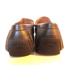 Chaussures GRAINED CHOCOLATERIE BALLY 1607100 Mollet wabler c neuf mocassins q1Opw0qH