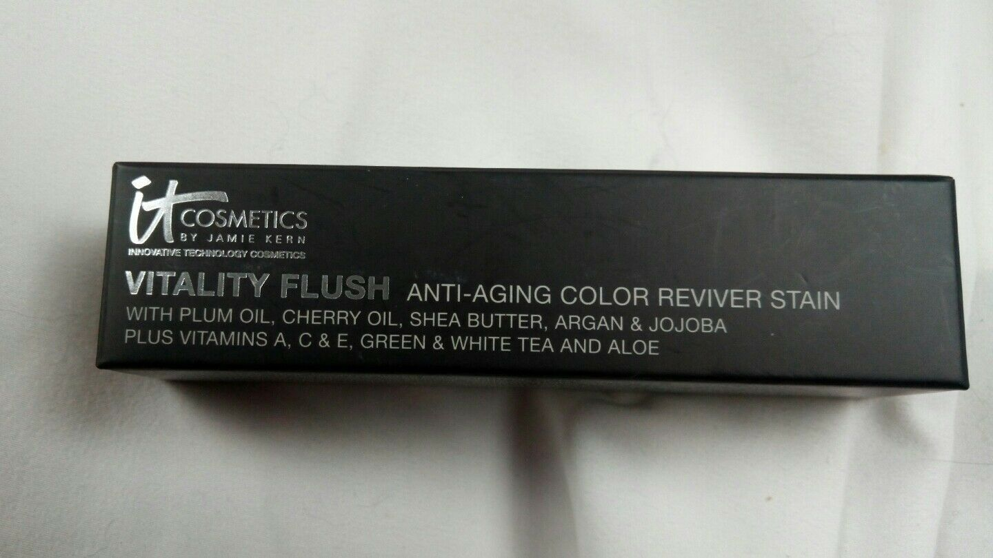 Primary image for It Cosmetics Anti Aging Vitality Flush  Reviver Stain- No Animal Testing Product