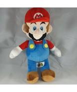 VERY GENTLY USED Super Mario Bros. Plush Doll Figure MARIO 15 Inches Nin... - $18.65