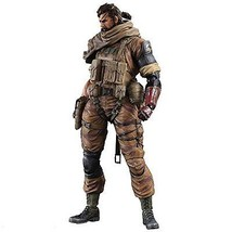 NEW Metal Gear Solid V phantom pain PLAY ARTS KaiVenomSnakeGoldTiger ver... - $171.02