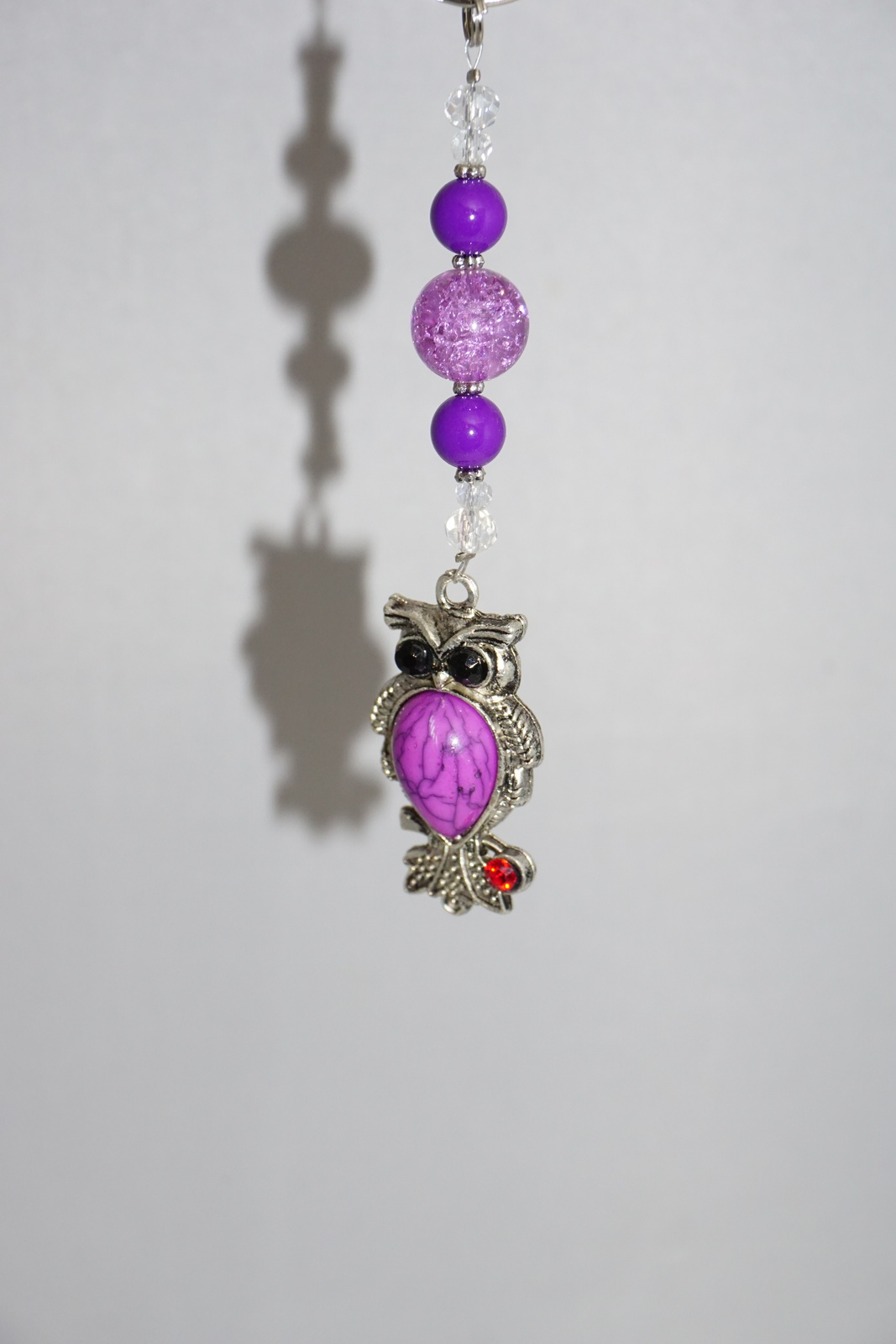 Purple Owl Keychain Perfect Owl Gift Ideas And 32 Similar