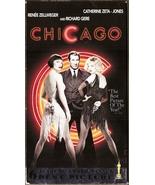 Chicago VHS Renée Zellweger Catherine Zeta-Jones Richard Gere Queen Latifah - $1.99