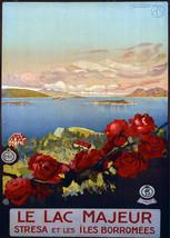"16x20""Poster on Canvas.Home Room Interior design.Travel Italy.Stresa.6515 - $46.75"