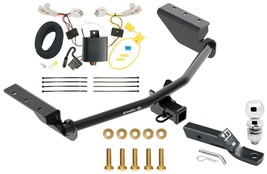 "Complete Trailer Hitch Pkg Fits 13-18 Toyota RAV4 Wiring Kit 2"" Ball 2"" Receiver - $223.36"