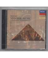 Mozart Masonic Music Wolfgang Amadeus Mozart 1990 CD Decca Werner Krenn - $6.85