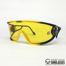 ALPINA S3 Yellow vintage sunglasses - Various Swing - W.Germany 80s Large - $172.78