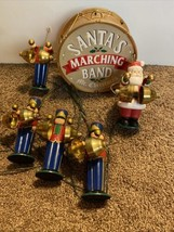 Mr Christmas Santas Marching Band Toy Soldiers Ornaments Decoration Animated - $79.19