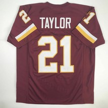 New SEAN TAYLOR Washington Maroon Custom Stitched Football Jersey Size M... - $49.99